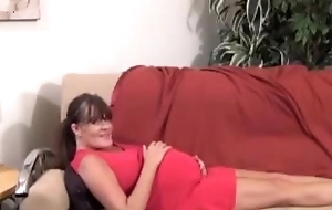 Mom creampie by son