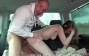 Takevan Extremely horny Mom fucked on fake date made by dudes in van