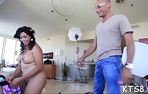 Tranny slut round nasty butt making out