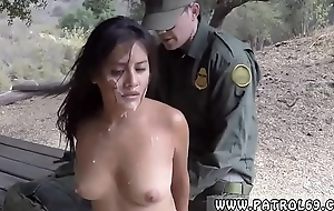 Cop traffic stop and establishment rough anal xxx Agent Has Sex with