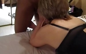 67 yo Granny getting banged in the ass and mouth