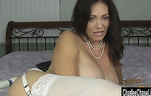 Kinky Big Tit MILF Charlee Chase Puts Some Bling wide Her Ass