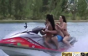 Group Lovemaking In excess of Camera With Lovely Party Sluty Girls (eva &amp_ tiff) video-23