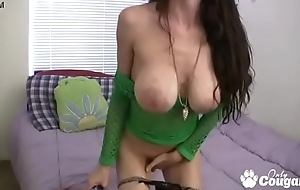 Candace Wants You To Jack Off To Her Huge Phony Tits - JOI