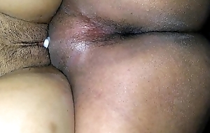 My sizzling wife'_s creampie pussy