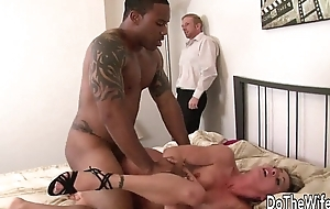 White fit together pussy black man cock plus facial