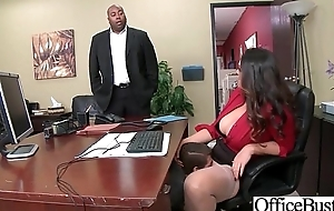 Hard Carnal knowledge Action With Slut Big Heart of hearts Office Cookie (Alison Tyler) video-01