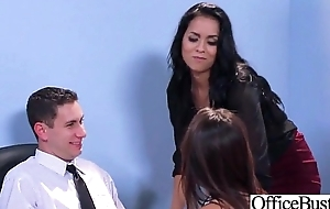 Sex Tape With Battle-axe Busty Hot Office Nasty Girl (Abby Lee Brazil &amp_ Valentina Nappi) video-01