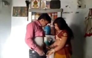 Indian Wife and Husband up Romantic Mood