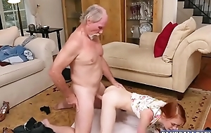 Amazing doll Dolly Little spreading her legs