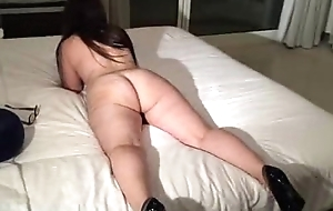 my curvy brazilian wife showing her ass