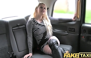 Fake Taxi Sexy blonde in seem like anal sex