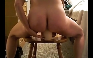 slutty neighbor destroying her pussy