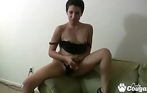 Ugly Amateur Kinky Gaga Wants To Dominate Your Dick - JOI