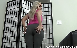 These yoga pants make my ass enter into the picture incredible