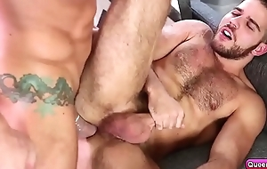 Jackson Grant rams Jimmy Durano pain in the neck until cum
