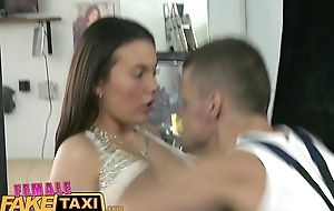 FemaleFakeTaxi Blue minx gets down and dirty with stud at garage