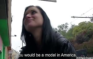 Public Blowjob With EUro Floosie Teen Amateur For Cash In The Street 33