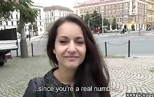 Public Blowjob With EUro Slut Teen Amateur For Cash In The Outing 20