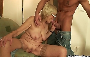 Fucking old girlfriends mother pussy on the committee