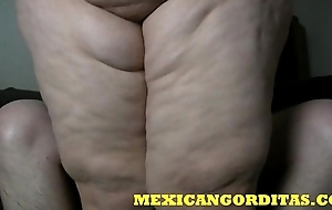 MEXICANGORDITAS.COM ALONDRA FACE SITS THEN GETS CREAMPIED